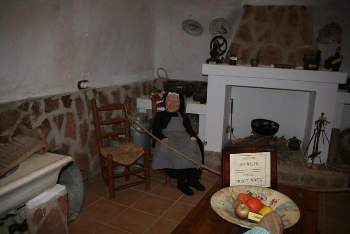 Cueva museo cocina